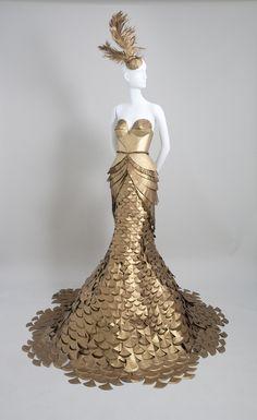 vestido con papel - Buscar con Google