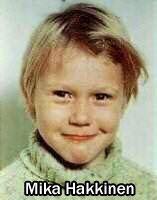 Little Mika Hakkinen