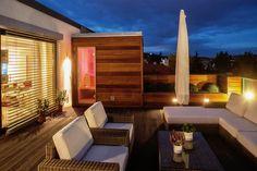 Sauna na terase -