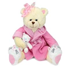 Recuperate Kate the Get Well Soon Teddy Bear by First and Main at Stuffed Safari