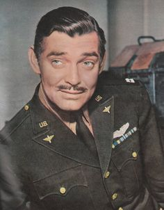 """""""I am a patriot above all else; I will go where I am needed. Freedom is worth defending."""" ~ Clark Gable, upon enlisting in the Army, 1942."""