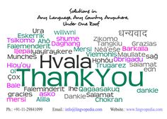 Lingvopedia Thanks On behalf of Lingvopedia, we express our thanks to our clients and resources for choosing Lingvopedia Language Solutions Pvt. Ltd. for Translation, Interpretation, Multilingual Voice Over, Multilingual DTP, Linguist Placement, Multilingual Transcriptions etc. http://www.lingvopedia.com/
