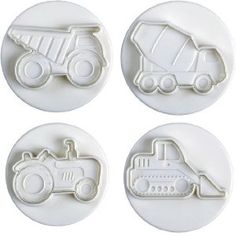 Construction Vehicle Cake Pan