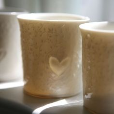 Chytám slunce...srdcový (porcelán) Porcelain, Tableware, Design, Porcelain Ceramics, Dinnerware, Tablewares, Dishes, Place Settings