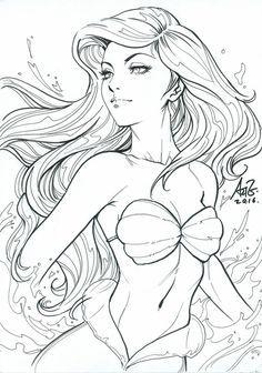 Disney Drawings, Cartoon Drawings, Art Drawings, Disney Kunst, Disney Art, Comic Kunst, Comic Art, Disney Princess Sketches, Desenhos League Of Legends