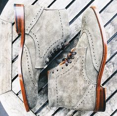 Like these? Follow @CrosbySquare for more handcrafted footwear for fall. by mensfashionpost