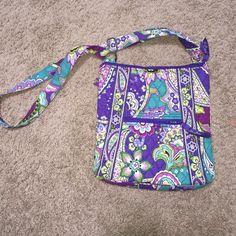 Vera Bradley cross body Purple, Great quality! Vera Bradley Bags Crossbody Bags