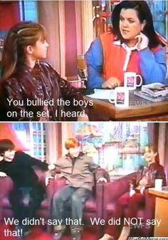 Haha Dan and Rupert getting scared