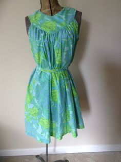 A personal favorite from my Etsy shop https://www.etsy.com/listing/233853110/1970s-loungees-adorable-house-dress-with