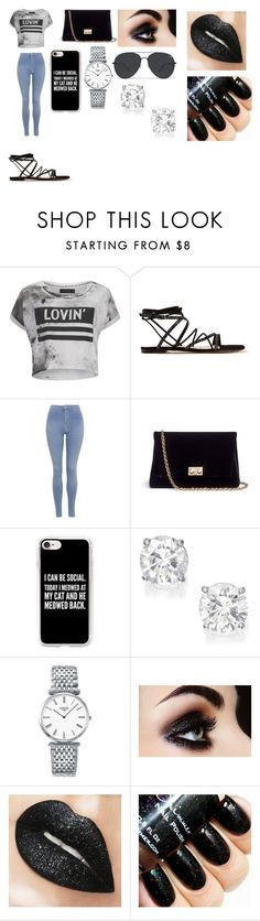 """""""Lovin"""" by breezybrebre on Polyvore featuring beauty, Religion Clothing, Gianvito Rossi, Topshop, Rodo, Casetify and Longines"""