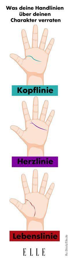 Hast du schon mal in deine Handflächen geschaut und deine Handlinien analysiert? Sie verraten nämlich einiges über deinen Charakter.