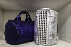 Rocco bag by #AlexanderWang #bag #Rocco #metal #FolliFollie #FW14collection