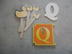 Q is for Quack!! This week, we've been learning all about the letter Q!  We started out the week with learning about the sound that ducks make.  I have to say, my three year old found this to be highly entertaining and spent the rest of the day walking around the house quacking.  You've been warned!