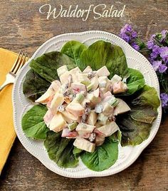 Waldorf Salad With A Twist for Mother's Day... you will be totally delighted with this delicious twist on the classic Waldorf Salad!  It's so refreshing!