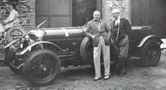 Bentley Boys Sir Tim Birkiin & Wollf Barnato