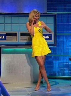 Do you think that I am sexy Mark Shavick darling? Beautiful Celebrities, Most Beautiful Women, Rachel Riley Legs, Racheal Riley, Great Legs, Nice Legs, Yellow Dress, Sexy Legs, Sexy Women