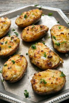 Save and organize all your favorite recipes with your personal Recipe Box on NYT Cooking. Cheesy Mashed Potatoes, Twice Baked Potatoes, How To Cook Potatoes, Baked Potato Recipes, Food Inspiration, Food And Drink, Cooking Recipes, Favorite Recipes, Yummy Food