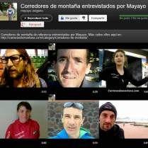 Videos de Carreras de Montaña: Canal con entrevistas, análisis de material e imágenes de las grandes competiciones.