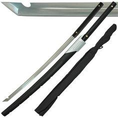 Cyborg Ninja Rising PlayStation Futuristic Full Tang 1045 C Steel Sword Function