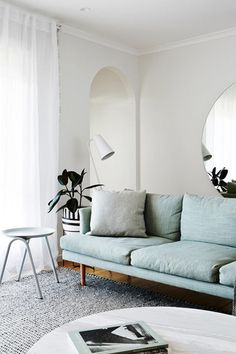 Clean and Simple - Lighten Up! These Springy Rooms Are Pale Perfection - Photos