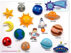 Our Solar system and Space set