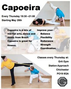 Chichester Capoeira class information