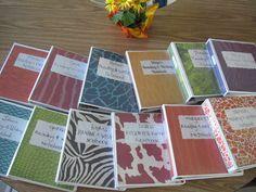 Reading & Writing Notebooks