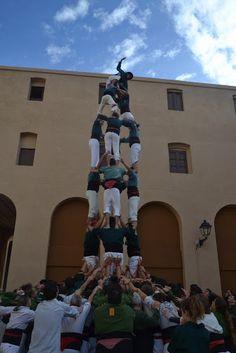 Castellers de Caldes - 4d7 - Caldes de Montbui 11/11/2012 Diada de la Colla