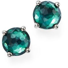 Ippolita Sterling Silver Rock Candy Wonderland Mini Stud Earrings in... ($370) ❤ liked on Polyvore featuring jewelry, earrings, ippolita, earring jewelry, rock earrings, stud earrings and ippolita jewelry