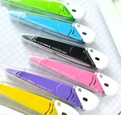 Seed Pimo Correction Tape Collection