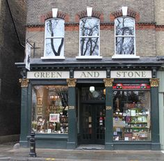 Green and Stone, King's Road, London.  Fine art supplier and frame shop.