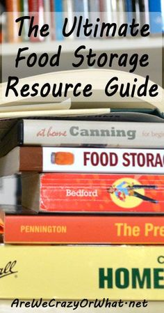 A look at 10 food storage books that should be in your home library. #beselfreliant
