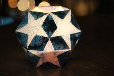 waldorf dodecahedron star lantern tutorial
