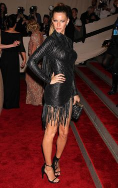 """Gisele Bundchen, in Alexander Wang, at the Costume Institute Gala for """"American Woman: Fashioning a National Identity."""" - May 3, 2010"""