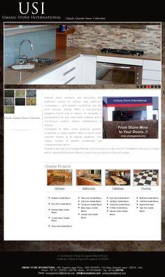 Web Design India, Granite Stone, Natural Stones, Countertops, Kitchen Appliances, Projects, Home, Diy Kitchen Appliances, Log Projects