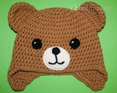 "Teddy Mütze häkeln ""Kuno"" - New Ideas Bonnet Crochet, Crochet Teddy, Crochet Mittens, Crochet Baby Hats, Newborn Crochet Patterns, Baby Boy Knitting Patterns, Baby Gifts To Make, Cute Baby Gifts, Crochet Crafts"