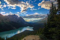 Banff National Park | Lake Peyto Banff National Park, Canadian Rockies.
