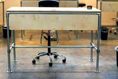 #Zittend en #staand werken met één #bureau! - Blog