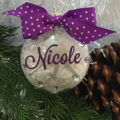 Field Hockey Ornament, Personalized by GemLights on Etsy