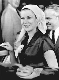 1967 Princess Grace leaving the Royal Victoria Hospital, in Montreal, after her miscarriage in July . The Princely Family had been visiting Montreal and EXPO 67, where Monaco has a Pavillion.After leaving Montreal the Grimaldis continued on to NJ where the Kelly family has a summer home  in Ocean City.