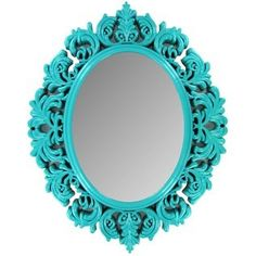 Turquoise Mirror Already got for the bedroom. :)