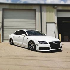 Slammed Audi A7. Dayum! YES PLEASE!~!