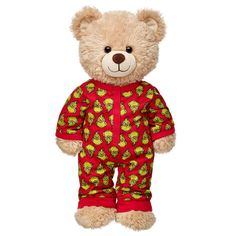 Shop, Explore and Play at Build-A-Bear® Custom Teddy Bear, Build A Bear Outfits, Online Gift Shop, Childhood Toys, Wooden Hearts, Plushies, Pjs, Grinch, Kawaii