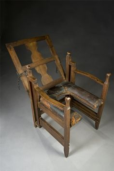 The patrimonial chair in Europe, the end of the XVIII century.