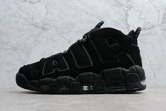 huge discount 79acb 78c4d Cheap Priced Nike Air More Uptempo Triple Black Mens Size Shoes Nike Air  Jordans, New