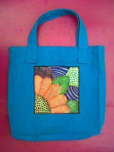 Bolso con Pintura textil