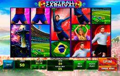 Carnival im Fussball! Ohne Anmeldung und umsonst spiele Football Carnival Spielautomat von Playtech!