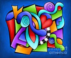 "Pop Art - ""Stepping Out"" - by Debi Payne"