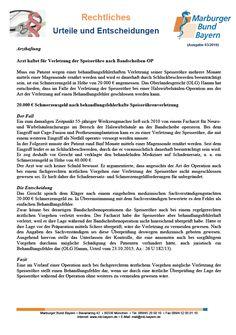 #Arzthaftung: Arzt haftet für Verletzung der Speiseröhre nach Bandscheiben-OP (OLG Hamm, Urteil vom 23.10.2015, Az.: 26 U 182/13)