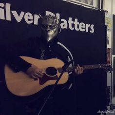 """Ghost at Platters in Washington state promoting their third album, """"Meliora."""" Omega's hand gestures kill me!"""